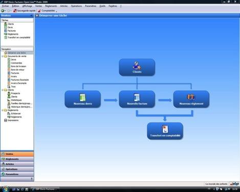 EBP Compta et Devis-Factures Open-Line Pratic