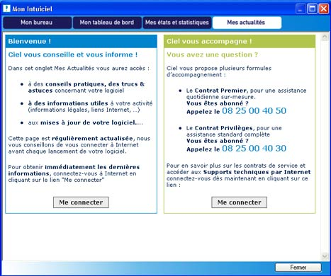 Ciel Compta Evolution�: Bulletin d'informations - Excel et Word (2) -- 29/06/06