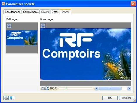 Ajout d'un logo dans un devis ou une facture de Ciel Facturation Facile 2008