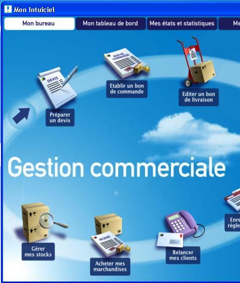 ciel gestion commerciale evolution 2007: l'intuiciel