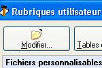 ciel gestion commerciale evolution 2007: rubriques personnalisables