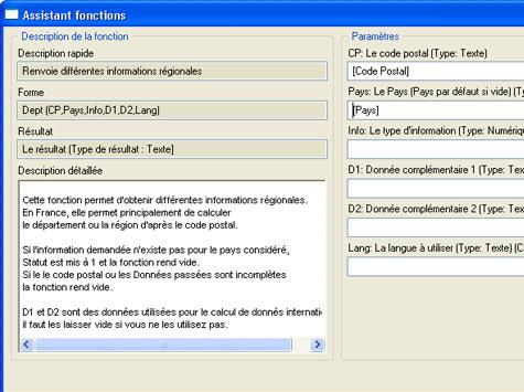assistant de fonctions dans ciel gestion commerciale évolution 2007