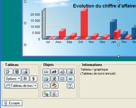 personnalisation de l'intuiciel de ciel gestion commerciale evolution 2007