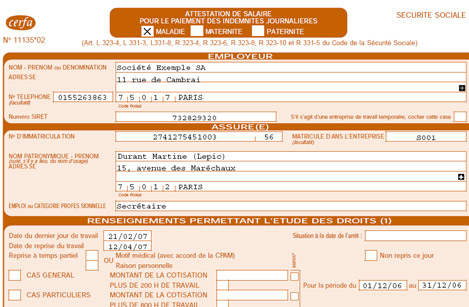 Ciel Paye�: DADS - DADS-U - Attestation Ass�dic - DUE - Attestation maladie et accident (11)
