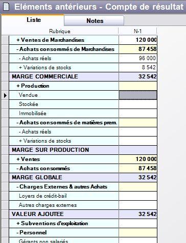 compte de résultat d'EBP Business Plan 2007