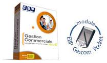 logiciel de gestion commerciale EBP Gestion commerciale + gescom pocket