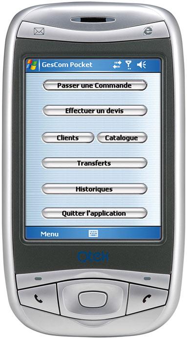ebp gescom pocket sur PDA