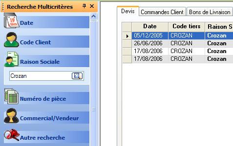 ebp gestion commerciale 2007: le volet de recherche