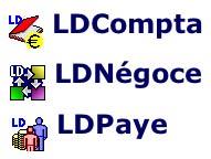 LdNégoce, LdCompta, LDPaye