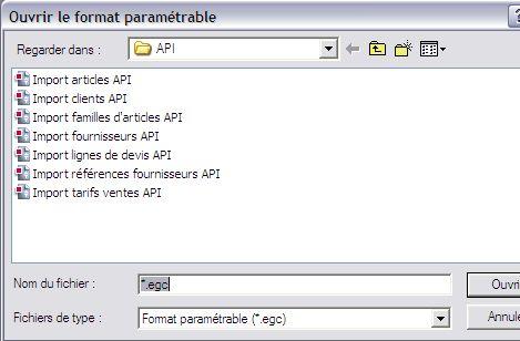 sage gestion commerciale 30 v12: formats d'import API