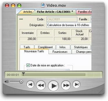 video nouveaux tarifs ebp gestion commerciale 2005