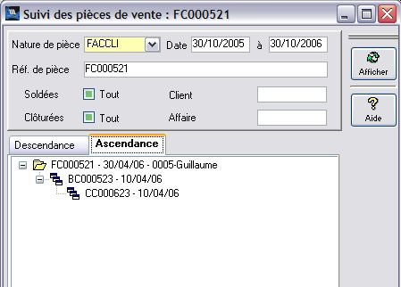 wavesoft gestion commerciale : fiche article