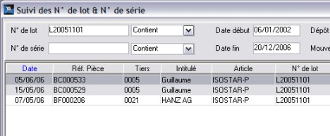 WaveSoft Gestion�: Lots et conditions d'achat (9)